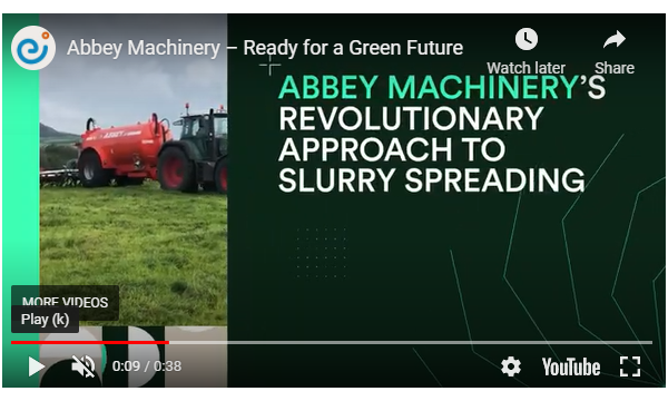 Abbey Machinery Featured in Enterprise Ireland's Green Future Campaign