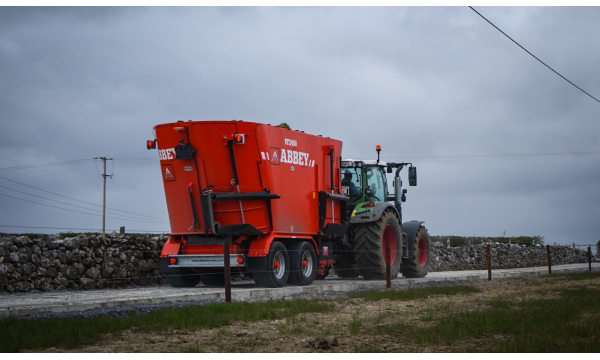 Prepare now for winter with an Abbey Machinery Diet Feeder